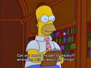 I hope my brain retains the info better than Homer's did. Via gradberry.com.